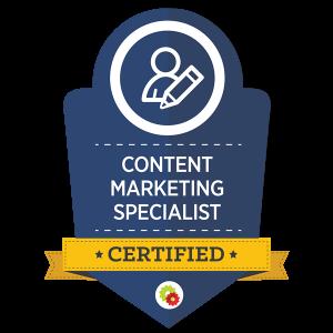 content badge