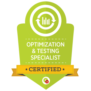 optimization badge