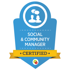 social community badge