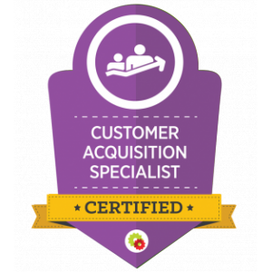 customer acquisition badge